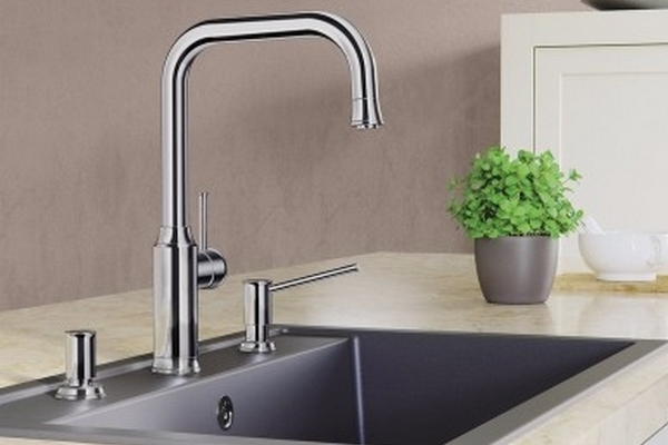 Faucets and soap dispensers Granitop