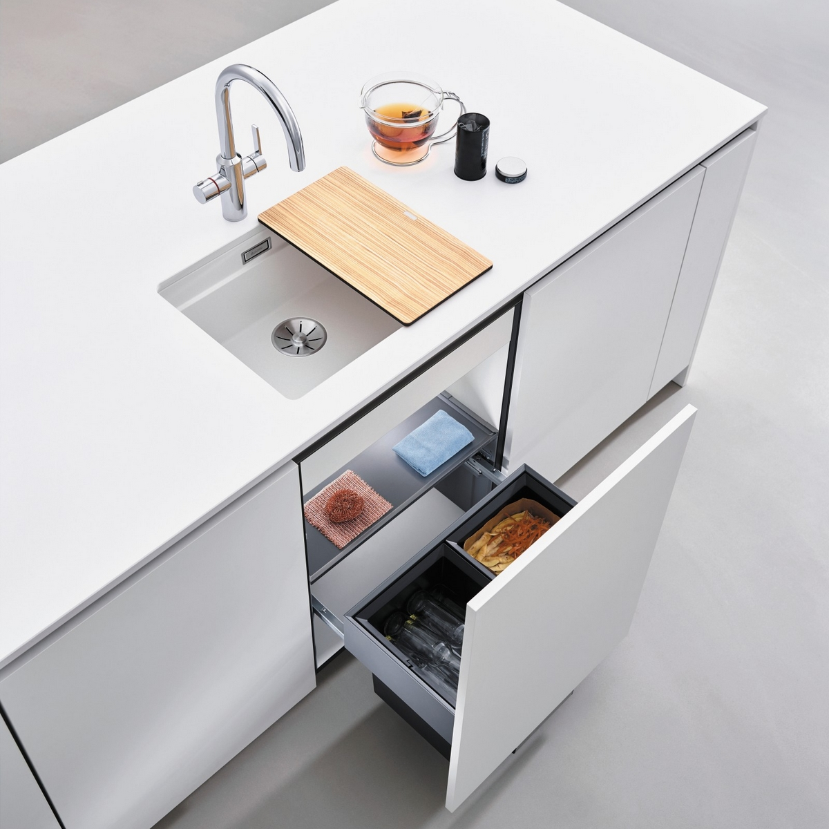 Silgranit Sinks Striking Harmony With Your Countertop Stone Granitop